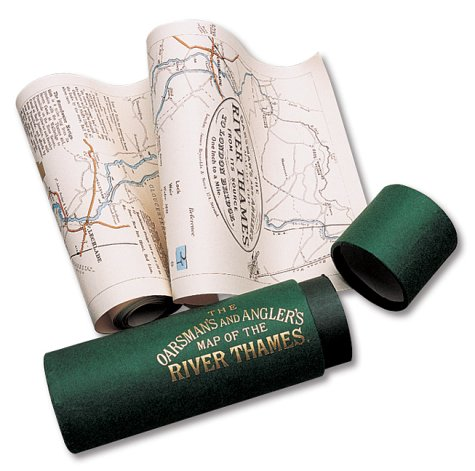 (The Oarsman's and Angler's Map of the River Thames 1893: From Its Source to London Bridge)