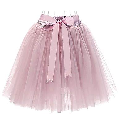 b537c56dd87fd9 Facent Femmes 50cm 7 Couches Tutu Tulle Jupons: Amazon.fr: Vêtements ...