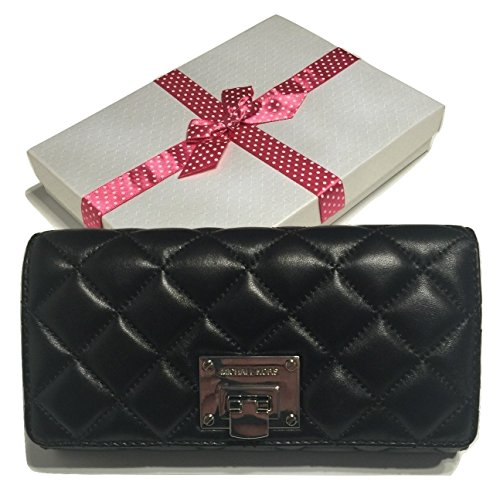 83992a976430 Michael Kors Astrid Carryall Clutch Wallet Quilted Black Leather with  Bagity Gift Box - Buy Online in UAE. | michael kors Products in the UAE -  See Prices, ...