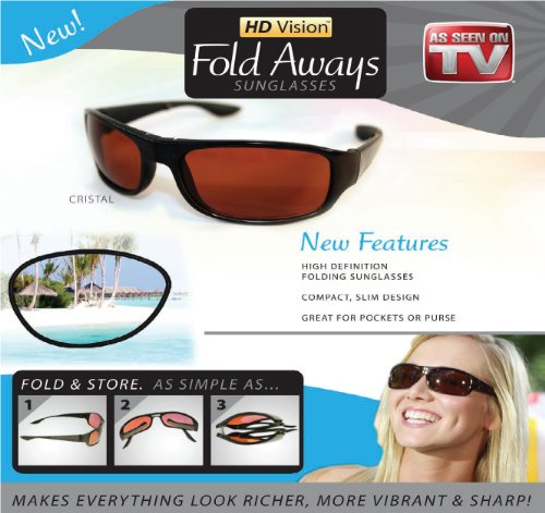 Hd Vision Fold Aways Sunglasses product image