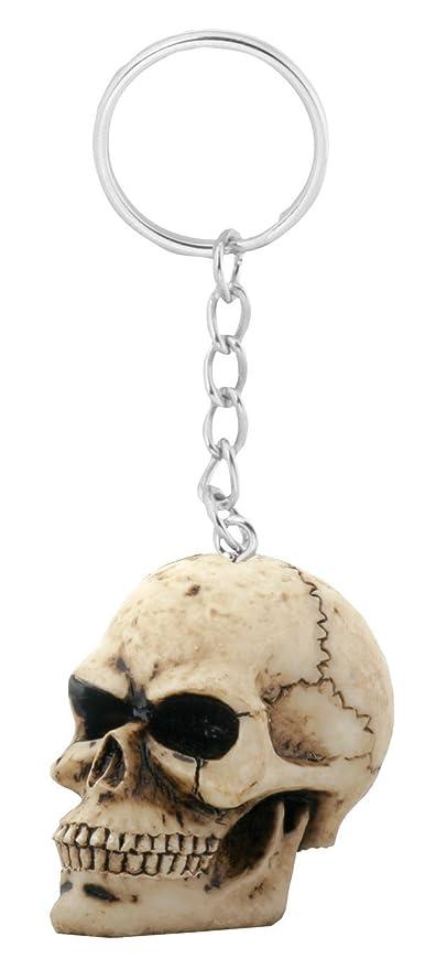 Amazon.com: Cráneo Cadena de clave (Pack de 12) Llavero ...