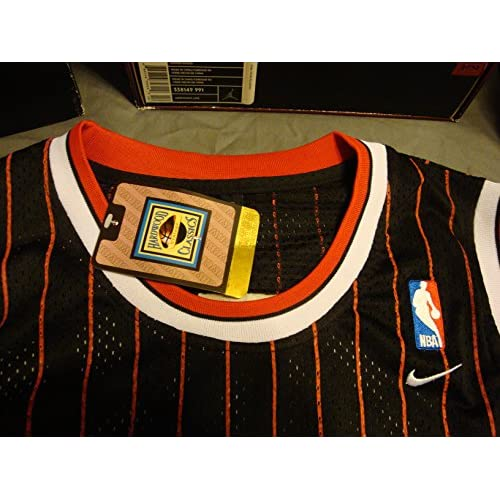 ca96771cfa5a cheap NBA Chicago Bulls Black Red Stripe Jersey