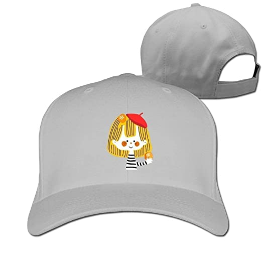 c76bc614a22 Image Unavailable. Image not available for. Color  Baseball Caps Cute Girl  Painter Golf Dad ...