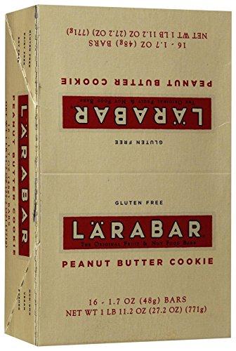 Larabar Peanut Butter Cookie -- 16 Bars - Vegan