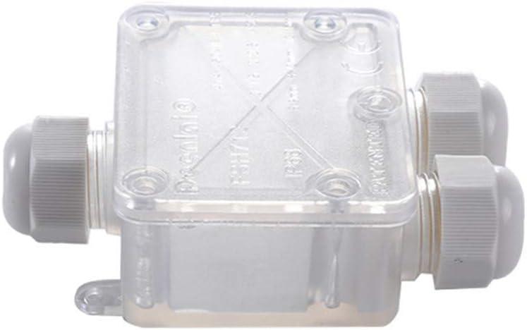 Größere 3 Wege E D2M8 Anschlussdose 5 Stücke Wasserdichte IP68 Kabel Verbinder