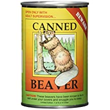 Canned Critters Stuffed Animal: Beaver