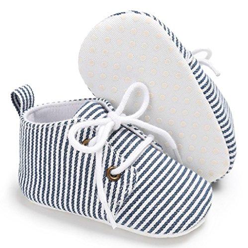 12 6 12 18 Suela Zapatos La Suave Primeros Zapatilla Para Caminar Lona 6 Auxma Del Bebé Mes De Antideslizante Deporte 3 qFTxSZ