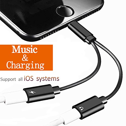 Lightning Jack Headphone Adapter Dongle for iPhone 7/7Plus i