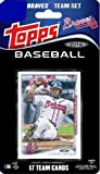 2014 Topps Atlanta Braves Factory Sealed Special Edition 17 Card Team Set with Upton, Heyward, Kimbrel Plus