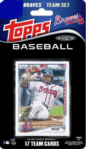 (2014 Topps Atlanta Braves Factory Sealed Special Edition 17 Card Team Set with Upton, Heyward, Kimbrel Plus)