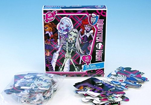 Monster High Doll Character 46 Piece Floor Puzzle by Mattel ()