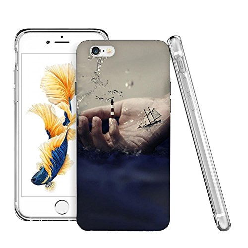 Thwo M84001_3D Hand Ocean Render HD Wallpaper phone case for iphone 6/6s plus
