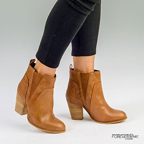 Forever Love Me Burnish Tan Pippa Boot CubrW