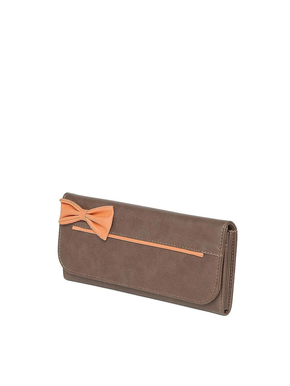 Butterflies Women's Wallet (Brown) (BNS 2379BN)