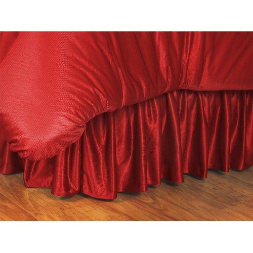 Chicago Blackhawks Bedskirt in Bright Red (Full)
