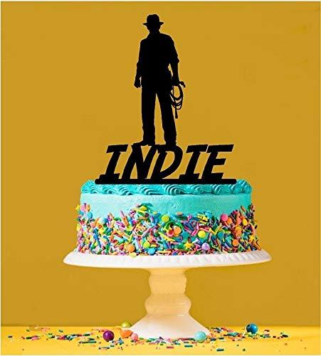 Personalised Indiana Jones Cake Topper by Tamengi