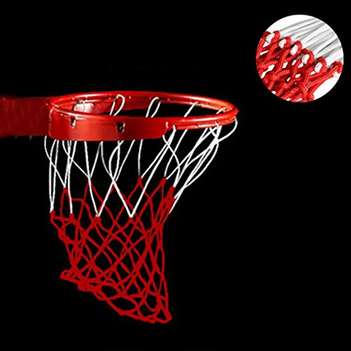 (Gotd Durable Replacement Basketball Net 5mm (Red))