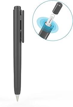 TiMOVO Funda de Lápiz Compatible con Apple Pencil 2, Estuche Protector Anti-arañazo del Stylus, Funda de Almacenamiento Retráctil para iPad 10.2 2019/iPad Pro 11/12.9 2018/2020: Amazon.es: Electrónica