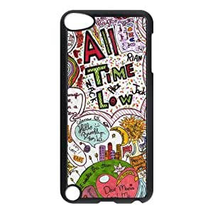 the Case Shop- Customized All Time Low Band Hard Back Plastic Protective Case Cover Skin for IPod Touch 5th , p5xq-640