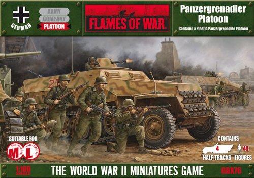 Panzergrenadier Platoon (Flames of War - Plastic Kit)