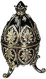 Design Toscano Alexander Palace Collection Romanov Style Enameled Egg: Nevsky