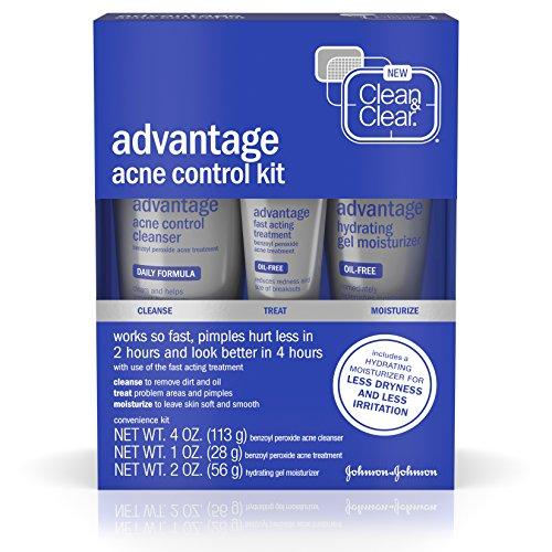 Clean Clear Advantage Treatment Control