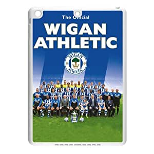 Football League Championship Team Wigan Athletic FC Logo Background Case Cover for IPad Air - Hard PC Back&4 sides TPU Protective Case Shell-Perfect as gift