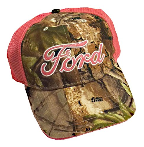 Ford Realtree Camo Womens Baseball Trucker Hat