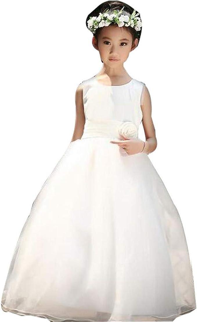 OPAKY Vestido de Novia de la Fiesta de la Dama de Honor de la Niña ...