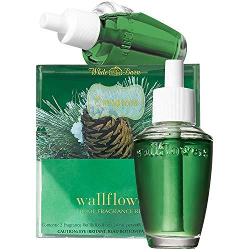 Slatkin & Co. Evergreen Wallflowers Home Fragrance Refills Wallflower Bulb Bath & Body Works