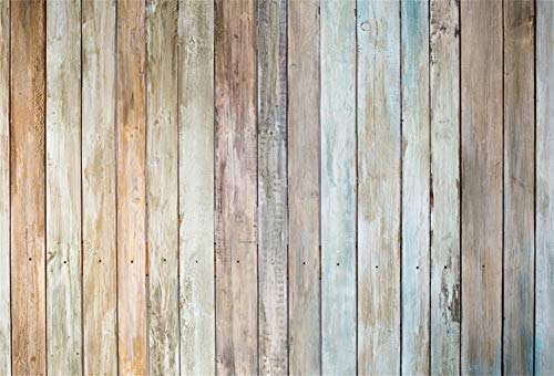 Yeele 10x8ft Retro Wood Plank Backdrop Vintage Wooden Floor Wall Photography Background Picture for Home Party Decor Girl Boy Adult Portrait Photo Booth Shooting Vinyl Wallpaper Studio -