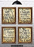 "lovely office decor themes Harry Potter Quotes & Sayings - Set of 4-8""x10"" Prints - Great Harry Potter Gifts (set #1)"