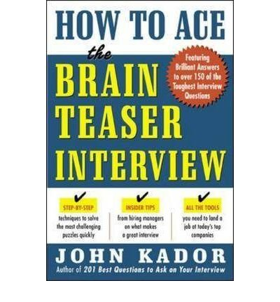 Download How to Ace the Brain Teaser Interview (Paperback) - Common pdf