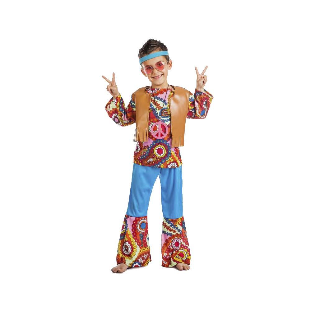 Disfraz Hippie Chaleco TALLA 3-4: Amazon.es: Ropa y accesorios