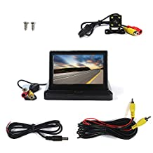 5inch TFT16:9 High Definition/digital Panel Car Rearview LCD Monitor and Car Rearview Camera Dual Function of Equipment