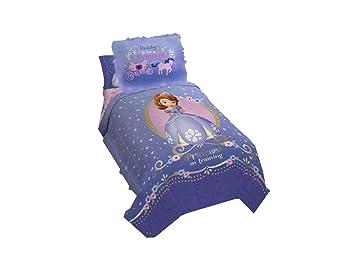 Sophia Jay Franco Disney Sofia The First Princess 6pc Twin Size Bedding Comforter, Two Pillow Shams /& 3pc Sheet Set