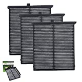 Cabin Air Filter for Mazda 3/6/CX-5,Replacement for KD45-61-J6X/KR11-61-J6X/MP11-1K-D451/CF11811