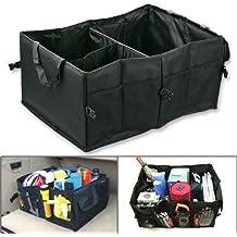 marrywindix Multipurpose Negro Oxford tela plegable coche carga caso de almacenamiento para viaje día festivo Camping