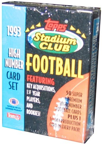 1993 Topps Stadium Football Number