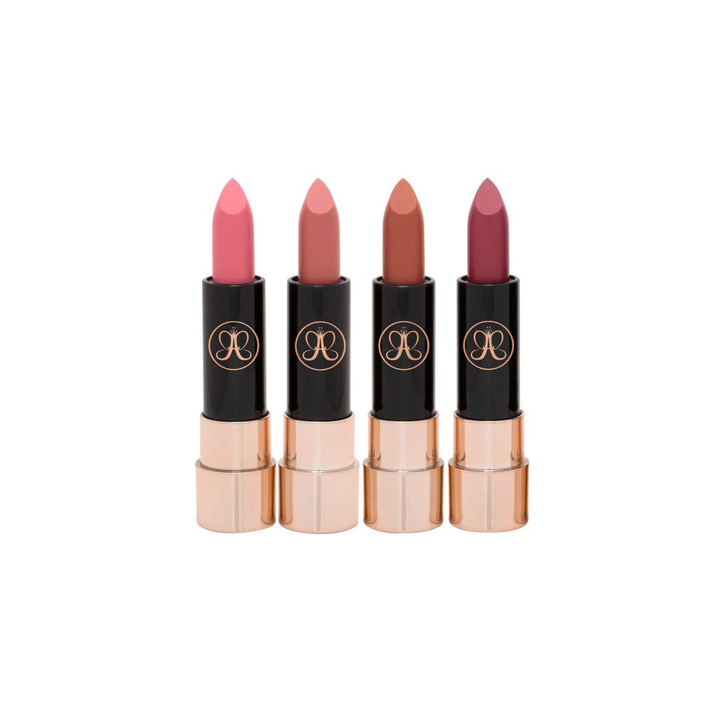 Anastasia Beverly Hills - Lip Set - Mini Matte Lipstick - 4 Piece Nudes Set