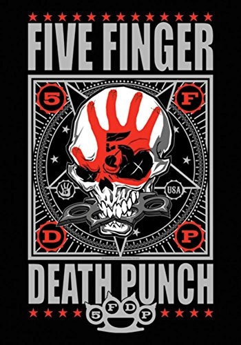 5 Finger Death Punch - Punchagram Fabric Poster 30 x 40in