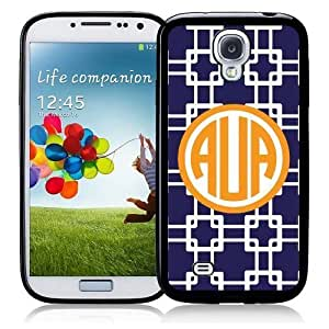 SudysAccessories Monogram Monogrammed Personalized Customized Iphone 5 AuaFor Case Samsung Galaxy Note 2 N7100 Cover SIV Case i9500 - Personalized for FREE (Send us an Amazon email after purchase with your monogram choice)