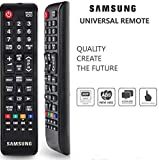 Generic Samsung Universal Replacement Remote Control with Dual Sensor Technology for LED/LCD/ Plasma TV (Black)