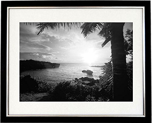 Hawaiian adventure framed black