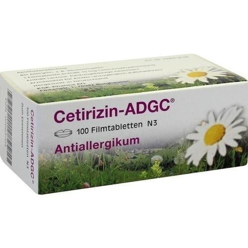 CETIRIZIN ADGC - Comprimidos, 100 unidades: Amazon.es: Salud y cuidado personal
