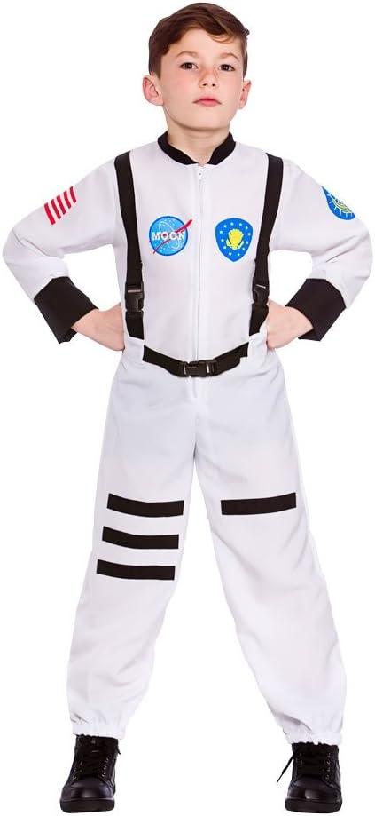 Childs Astronaut Fancy Dress Costume Spaceman Book Day Girls Boys Kids NASA Mars