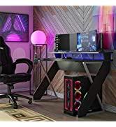 NTENSE Xtreme Riser, Ergonomic, Home Office, Work Table, Computer, Gaming Room Desk, Monitor Stan...
