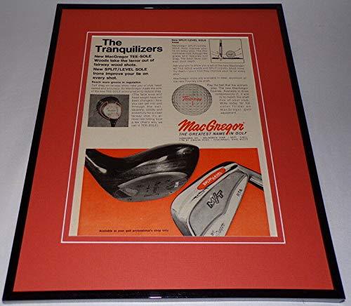 1970 Macgregor Tee Sole Woods 11x14 Framed ORIGINAL Advertisement -  Steel City Galleries