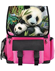 Precious Pandas School Backpack for Girls, Boys, Kids