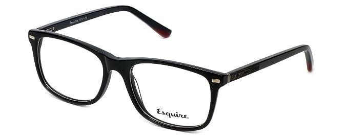 671e6b3fd7 Amazon.com  Esquire Designer Reading Glasses EQ1512 in Black 53mm ...
